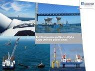 Civil Engineering and Marine Works - Oceanology International