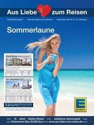 EDEKA Reisemagazin Sommerlaune_S