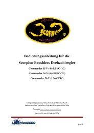 (V2) Commander 26 V - Scorpion Power System