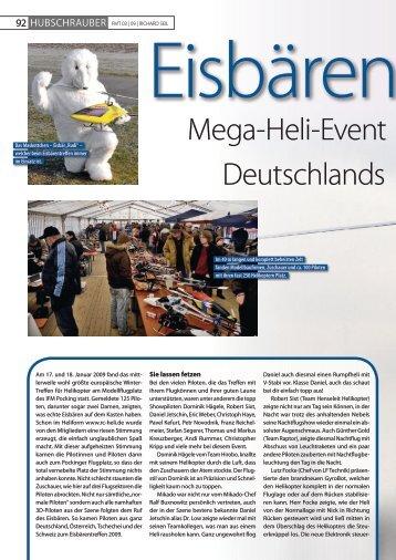 deutschlands Mega-heli-event - IfM Pocking eV