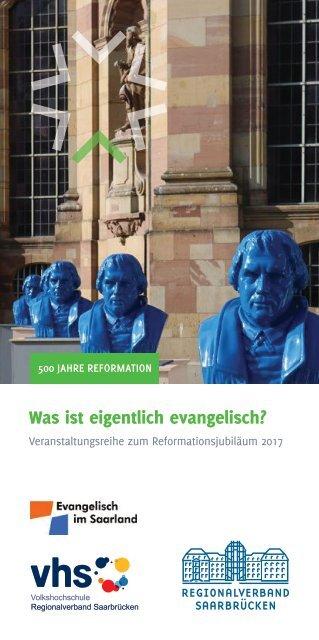 500 Jahre Reformation - Veranstaltungsreihe 2017