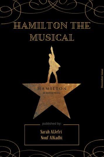 Hamilton the musical