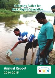 Collective Action Annual Report - 2014-15 Final(1)