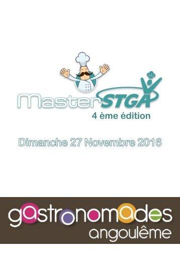 Convention de partenariat MasterSTGA 2016