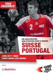 Programmheft Schweiz - Portugal
