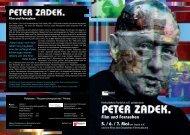 Peter Zadek. Film und Fernsehen