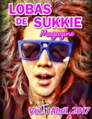 Lobas de Sukkie Magazine Vol. 1