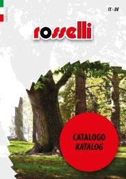 Catalogo generale / Gesamtkatalog - Rosselli Snc