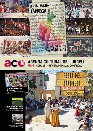 Agenda MAIG 2017