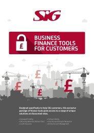 SIG Business Finance Tools 4pp Brochure Lo-Res v2