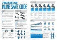 Powerslide Skate Guide - FAQ