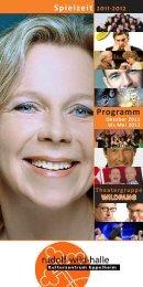 Kulturprogramm 2011 2012 (4.564 KB) - Eppelheim