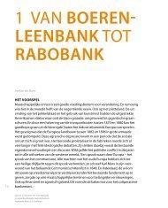 H1 Van Boerenleenbank tot Rabobank - Rabobank Groep