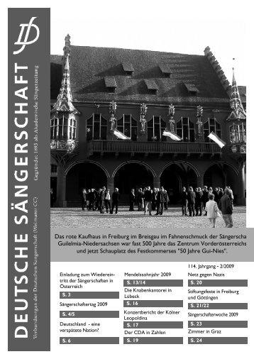 2009/2 - Deutsche Sängerschaft