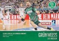GRÜNWEISS – das Magazin der DHfK-Handballer – Heft 15 – Saison 2016/17