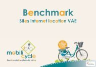 Benchmark Mobili'cycle décembre 2016