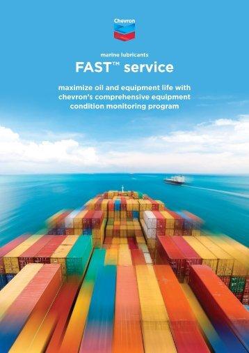Chevron FAST Service brochure