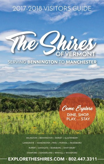 The Shires of Vermont Visitors Guide 2017-2018
