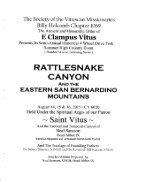 "6020/2015 Summer Vituscan \""Rattlesnake Canyon\"" History - Page 2"