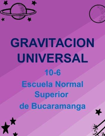 gravitaciòn universal- fisica