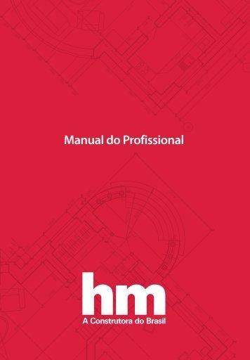 Manual do Profissional HM Engenharia