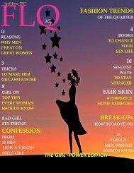 FLQ MAGAZINE 2ND ISSUE