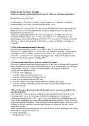 rehaKIND-Kongress 2011 Entdecke die Kraft der Sprache Meike ...