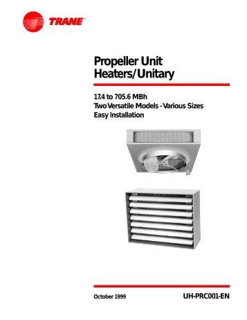 Classroom Unit Ventilator Trane