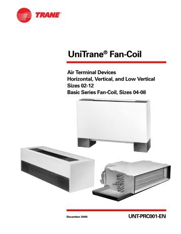 Fan Coil Aermec Omnia Ul C Installation Manual