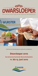 Dwarsloeper Programm 2010 - Dwarsloeper Festival