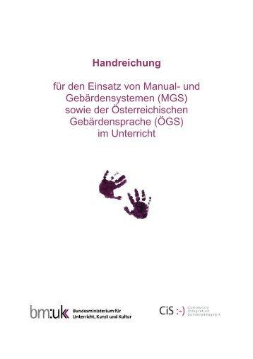 Handreichung mit Logo inkl Literaturliste 27-Dez-2011 - cisOnline