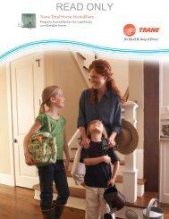 Trane Total Home Humidifiers - Franzen Heating & Cooling