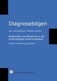 Diagnosebögen der Handreichung UK-Diagnostik - von Loeper ...