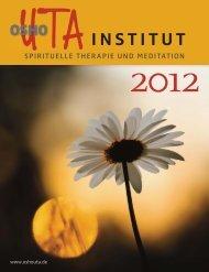 institut SPIRITUELLE THERAPIE UND ... - Osho UTA Institut