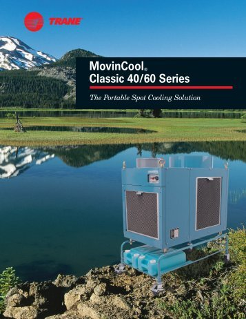 MovinCool® Classic 40/60 Series - Trane