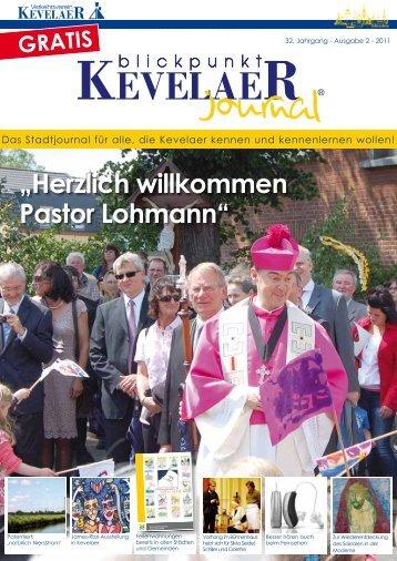 """""""Herzlich willkommen Pastor Lohmann"""" - Blickpunkt Kevelaer ..."""