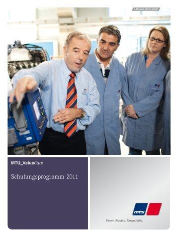 Schulungsprogramm 2011 - MTU