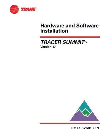 Tracker Manual Trane