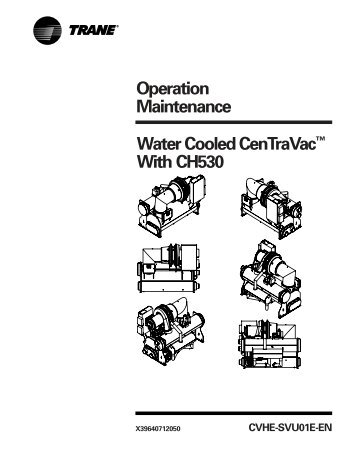 Operation Maintenance Manual Gear-Driven Centrifugal Water