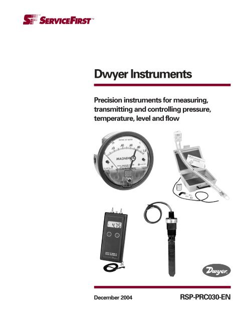 Temperature Dwyer Instruments Dwyer Path Super Kit for Pressure Velocity