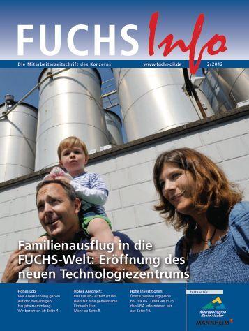Familienausflug in die FUCHS-Welt - Fuchs Petrolub AG