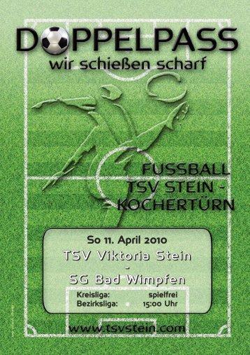 Fax 92 16 30 · E-Mail: BRAGMBH@aol.com ... - TSV Viktoria Stein