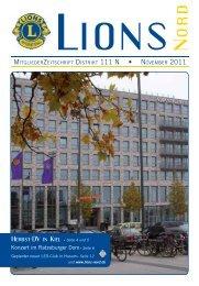 Seite 6 - zur Mitgliederzeitschrift LIONS NORD