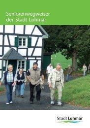 Seniorenwegweiser der Stadt Lohmar