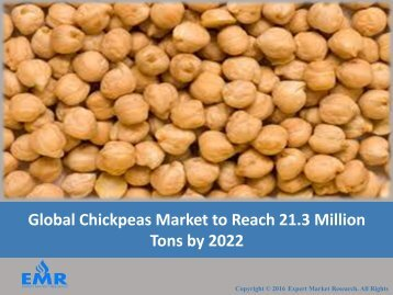 Global Chickpeas Market | Share | Size | Industry Report 2017-2022