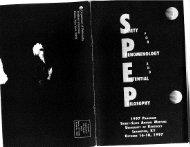1997 Program (Kentucky) - SPEP