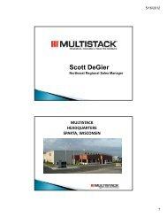 Multistack - Trane