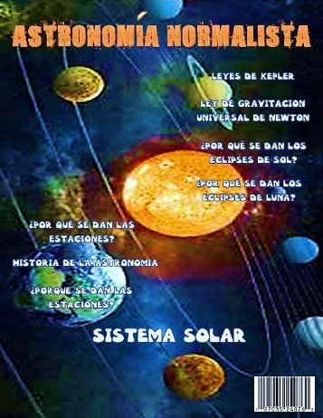 Revista Astronomia Normalista
