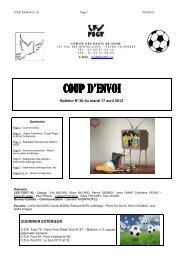 CPE N° 30 2011-2012 - FSGT 92