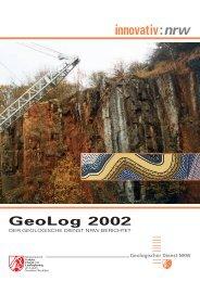 GeoLog 2002 - Geologischer Dienst NRW
